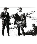 LEE VAN CLEEF & CLINT EASTWOOD Authentic Autographed Hand Signed Photo w... - $275.00
