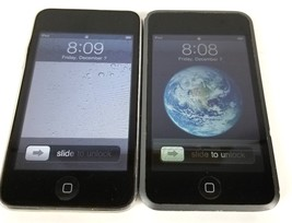 Lot of 2 Apple iPod Touch 1st and 2nd Gen (Working with Defects) For Par... - $32.99