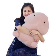 10/20/30/50cm Plush Penis Toy Doll Funny Soft Stuffed Plush Simulation P... - $23.30
