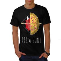 Pizza Hunt Arrow Hot Food Shirt  Men T-shirt - $12.99+