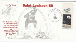 27th WORLD SCIENCE FICTION CONVENTION MOONLANDING & MOON STAMP ST. LOUIS... - $3.58