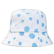 Blue Dots Sun-resistant Pure Cotton Comfortable Ventilate Baby Cap Infant Hat image 2