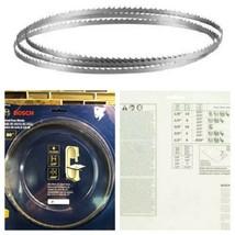 Bosch BS80-6W 80-Inch by 1/4-Inch 6TPI Wood Bandsaw Blade   - $19.79