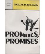 "National Theatre Playbill ""Promises, Promises"" Nov. 1968 David Merrrick - $3.00"