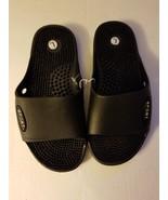 OT Revolution Slip on Sandals Size 1/2 NWT Black  - $12.99