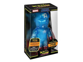 Hikari Japanese Vinyl: Limited Edition True Blue Captain America Sofubi ... - $61.99