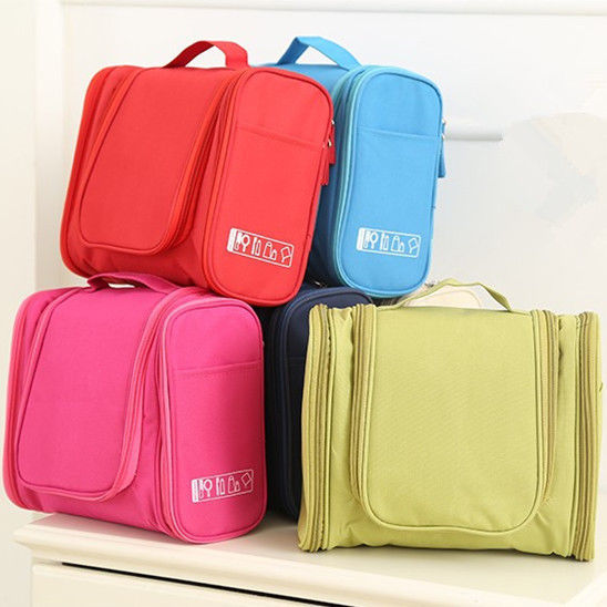 Makeup Storage Cosmetic Bag Travel Organizer Hanging Toiletry Tools Pouch Purse
