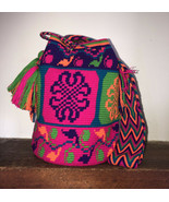Authentic 100% Wayuu Mochila Colombian Bag Large Size - $86.00