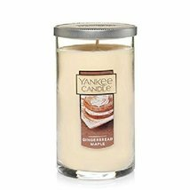 Yankee Candle Gingerbread Maple Fragrance 20 Ounce Perfect Pillar Large ... - $30.00