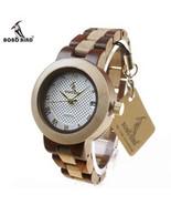 BOBO BIRD M19 2017 Newest Brand Designer Wooden Watch For Men - $41.99
