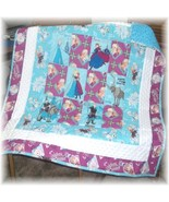 Disney's Forever Sister's Fabric Patchwork Baby/Toddler Quilt  - $45.00