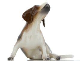 Hagen Renaker Specialty Dog Beagle with Beard Ceramic Figurine Larger Size image 7