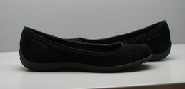 Merrell Black Suede Like SHOES Womans 6.5 FLATS Performance Footwear  - $18.80