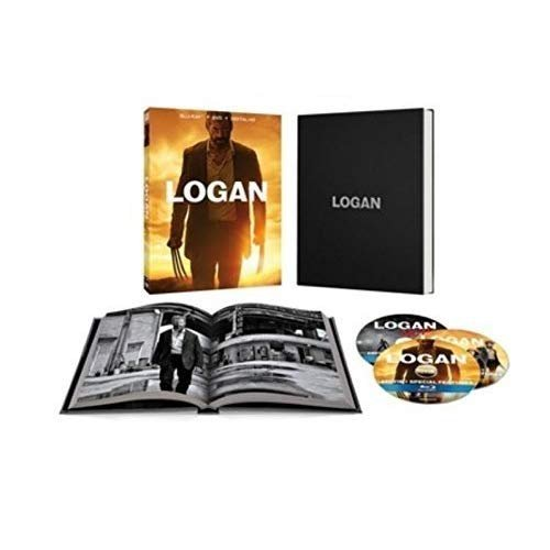 Logan with Target Exclusive Photo Book [Blu-ray + DVD]