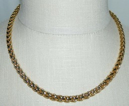 "MONET Gold Tone Coil Choker Necklace - 1/4 inch wide - 18"" in length - $39.60"