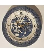 "WOW! Churchill England China Regal Quartz Blue Willow 10"" inch Wall Plat... - $52.52"