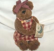 Boyds Bears Momma McBear with Original Tags Plush Bear with Dress & Bow - $4.94