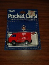 "Tomica Pocket Cars Subaru Sambar Panel Van ""Post"" Tomy - $39.60"