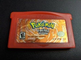 32 bit game Pokemon FireRed Version GER Version German Language - $4.99
