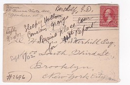 NEW YORK NY MAILED TO BROOKLYN, NY CIRCUIT R.P.O. TR17 SEPTEMBER 1902 - $3.43