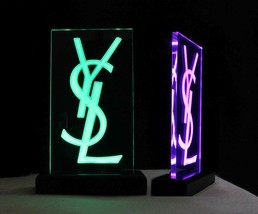 Personalized LED Rechargeable Internal Battery Name Plate, Custom Sign -... - $86.13+
