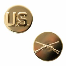 Genuine U.S. Army Enlisted Branch Of Service Collar Device: Infantry - $16.81