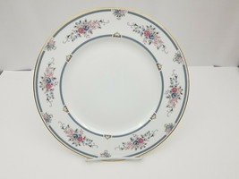 Wedgewood Bone China Charlotte Dinner Plates Set of 4 White Floral Gold ... - $38.21