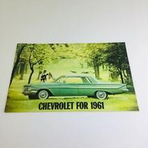 1961 Chevrolet Biscayne Series Station Wagon Dealership Auto Brochure Ca... - $10.65
