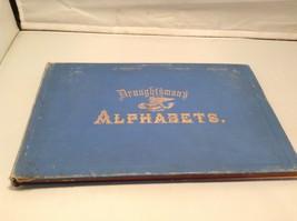 Vintage Blue Draugh & Sman's Alphabets Book 7th Edition