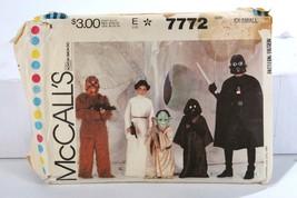 Vintage McCall's Uncut Pattern 1981 Star Wars Empire Strikes Back Costum... - $41.02