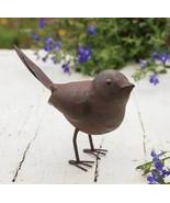 NWT Rustic Farmhouse Metal Antiqued Finish Songbird Statue Figurine - $8.93