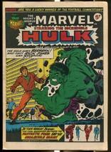 MIGHTY WORLD OF MARVEL #44 1973-HULK-FANTASTIC FOUR-KIRBY-UK COMIC FN - $44.14