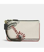 Coach Disney Mickey Mouse X Keith Haring Small Wristlet NWT! Sold Out! - $183.15