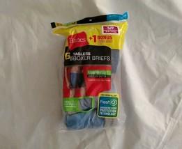 Hanes Men's FreshIQ 5+1 Bonus 6pk Blue Black Tagless Boxer Briefs Size S/P - $14.49