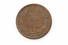 1863 Indian HEAD/ Not One Cent Civil War Token - $79.20