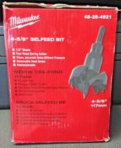 """Milwaukee 48-25-4621 4-5/8"""" (117mm) Selfeed Bit - $91.08"""