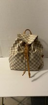 Louis Vuitton Damier Azur Sperone Backpack - $2,079.00