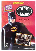 Batman Activity Book Golden Books - $2.89