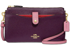 Coach Noa Messenger mit Pop-Up Tasche Crossbody Clutch Geldbörse 31864 ~... - £94.19 GBP