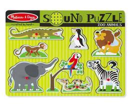 Melissa and Doug Zoo Animals Sound Puzzle - 8 Pieces  - $13.00