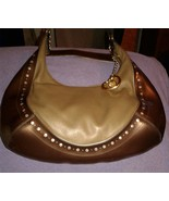 Lovcat Paris Shoulder Bag Bronze Metallic Large... - $33.00