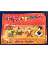 The Disney Afternoon Kellogg 1991 Collectible 4 Figure Set Duck Tales Gu... - $7.91