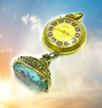 HAUNTED ANTIQUE WATCH TIME FOR FORTUNE EXTREME WEALTH  MAGICK MYSTICAL T... - $117,007.77