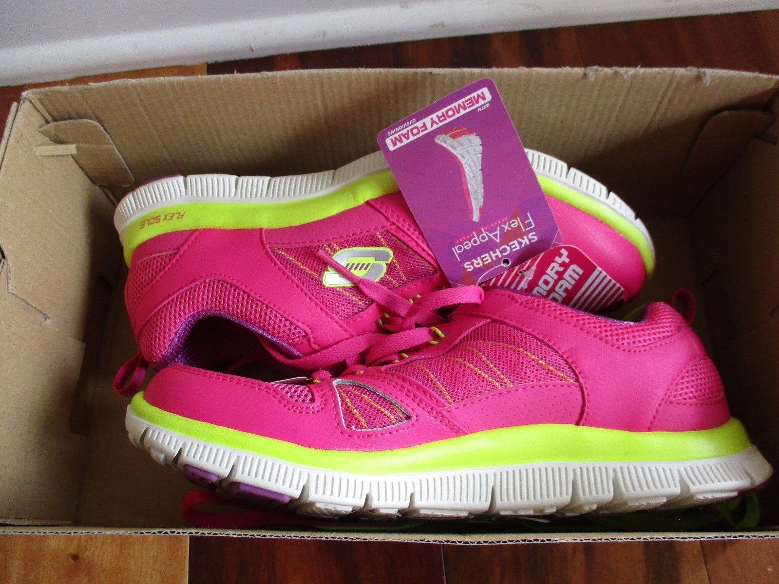 BNIB Skechers Flex Appeal - Spring Fever Womens' Athletic Shoes, ships w/o box image 10
