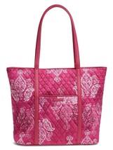 Vera Bradley Trimmed VERA Large Tote Bag - Stamped Paisley - 15259 - $108  - $64.95
