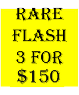 MON-TUES FLASH SALE! PICK ANY 3 FOR $150  BEST OFFERS DISCOUNT  - $0.00