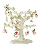 Lenox Ornament Tree & 16 Miniature Ornament Sets Winter Delights Snow Pa... - $1,755.00