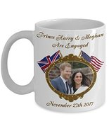 Prince Harry And Meghan Are Engaged Commemorative Coffee Mug Mugs of Tea - $15.99