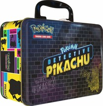 Pokemon TCG:Detective PikachuCollector Treasure Chest + 9 Booster Pack + ... - $28.41