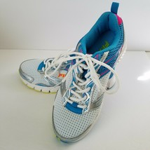 FILA Royalty Running Training Athletic Shoes Sneakers White Blue Silver Womens - $15.99